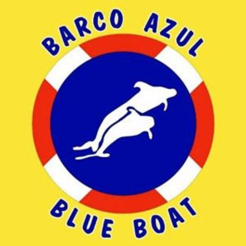 blue boat lanzarote